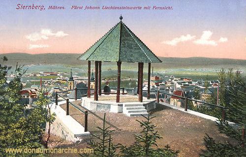 Sternberg in Mähren, Fürst Johann Liechtensteinwarte mit Fernsicht