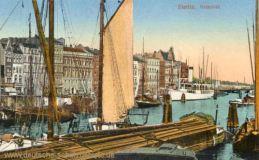 Stettin, Hafenbild