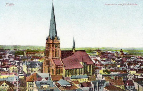 Stettin, Jakobikirche