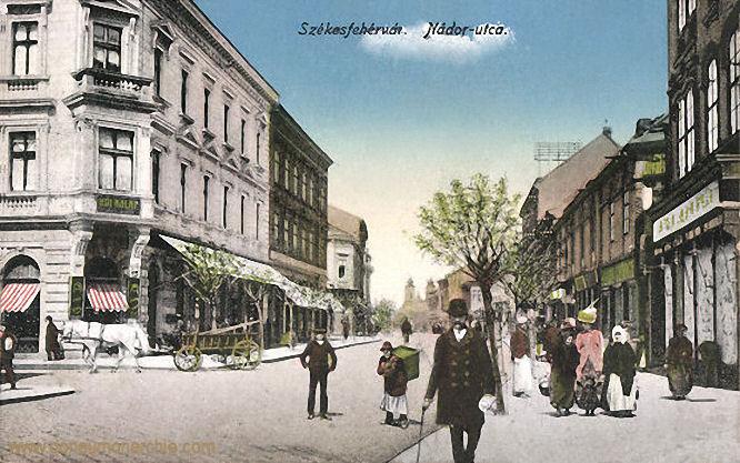 Stuhlweißenburg (Székesfejérvár), Nádor utca