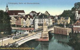 Tübingen, Partie mit Eberhardsbrücke