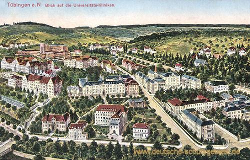 Tübingen, Universitäts-Kliniken