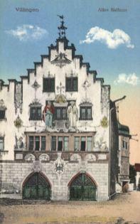 Villingen, Altes Rathaus