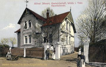 Weida, Gastwirtschaft Alfred Jähnert
