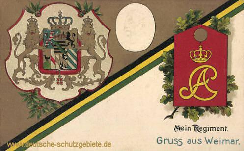 Gruß aus Weimar, Mein Regiment