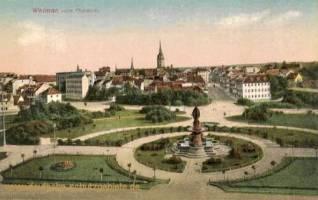 Weimar, vorm Museum