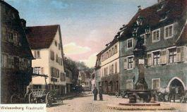 Weißenburg im Elsass, Krautmarkt
