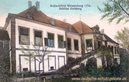 Weißenburg im Elsass, Schloss Gaisberg