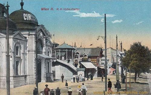 Wien II., K. K. Volks-Prater
