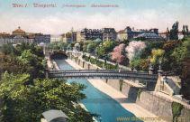 Wien I., Wienportal, Johannesgasse, Karolinenbrücke