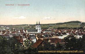 Winterthur, Generalansicht