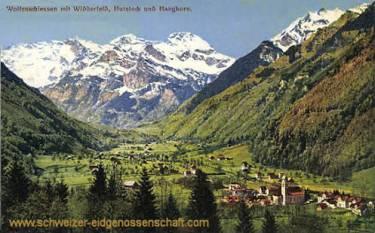 Wolfenschiessen mit Widderfeld, Hutstock und Hanghorn