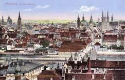 Würzburg, von der Festung