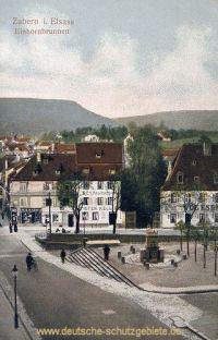 Zabern, Einhornbrunnen