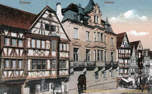 Zabern, Rathaus