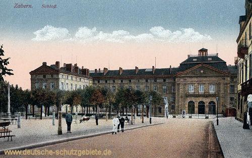 Zabern, Schloss