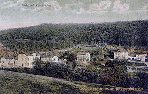 Zeulenroda, Bahnhof