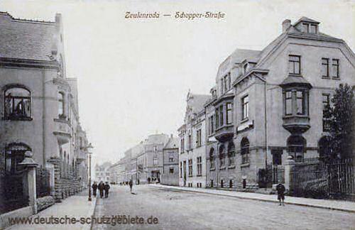 Zeulenroda, Schopper-Straße