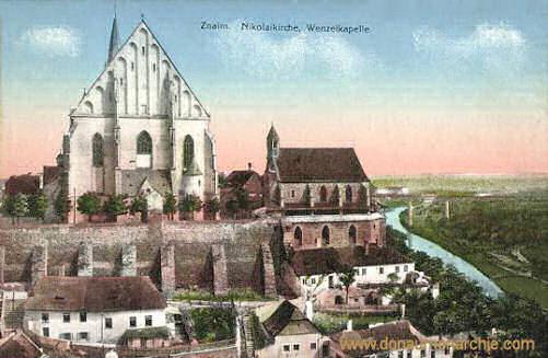 Znaim, Nikolaikirche, Wenzelkapelle