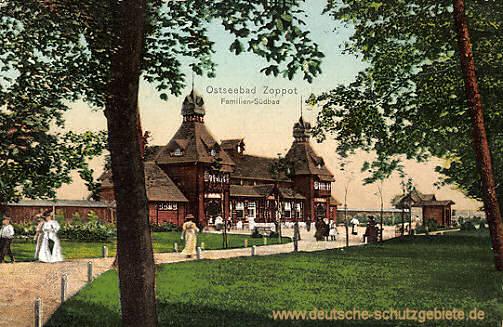 Zoppot, Familien-Südbad