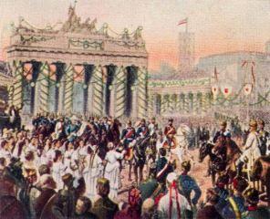 Einzug Kaiser Wilhelm I. in Berlin, 16. Juni 1871