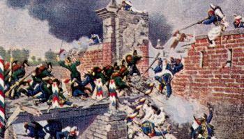 Erstürmung des Landauer Tores zu Weißenburg, 4. August 1870