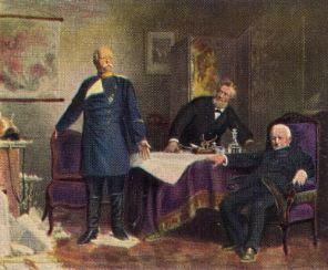 Friedensverhandlungen 1871