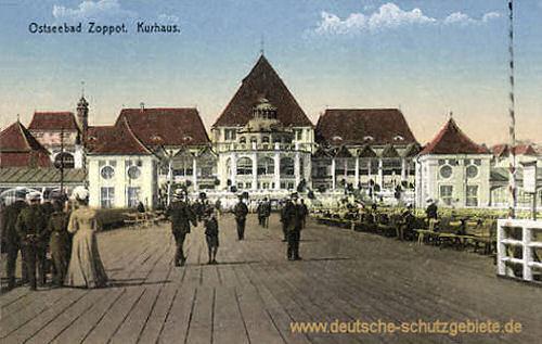 Zoppot, Kurhaus