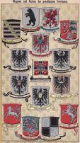 Wappen und Farben der preußischen Provinzen