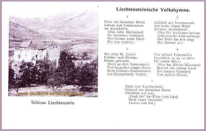Liechtensteinische Volkshymne