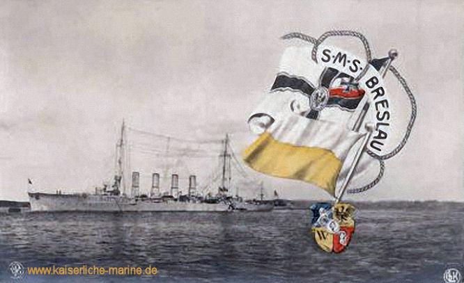 S.M.S. Breslau, Kleiner Kreuzer
