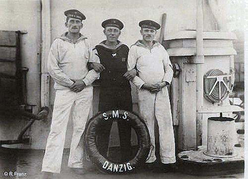 Bordleben auf S.M.S. Danzig