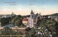 Spremberg, Realgymnasium - Postamt
