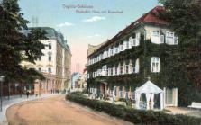 Teplitz-Schönau, Deutsches Haus mit Kaiserbad