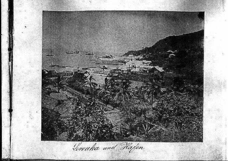 Lewuka und Hafen