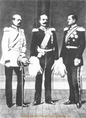 Bismarck, Roon und Moltke, 1870