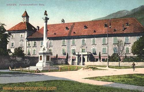 Brixen, Fürstbischöfliche Burg