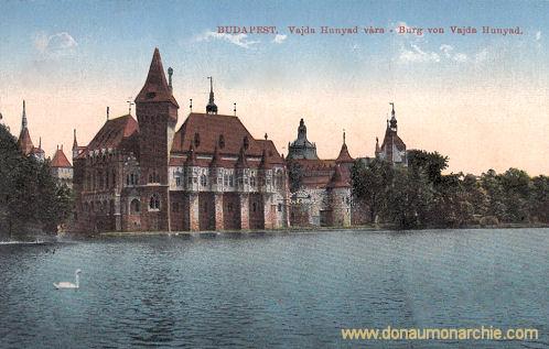 Budapest, Burg von Vajda Hunyad