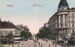 Budapest, Rákóczi Straße
