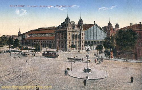 Budapest, Westbahnhof