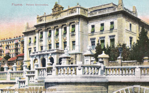Fiume, Gouverneur-Palais
