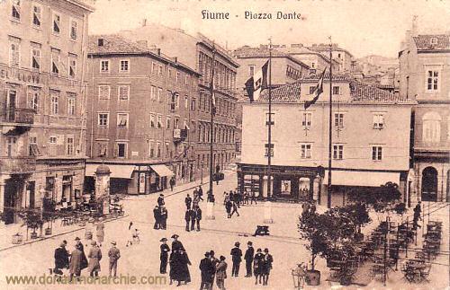 Fiume, Piazza Dante