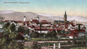 Hermannstadt (Nagyszeben - Sibiu), Stadtansicht