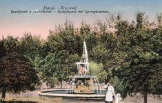 Kronstadt (Brassó - Brașov), Rudolfspark mit Springbrunnen