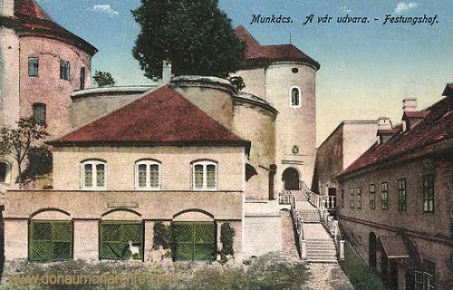 Munkatsch (Munkács - Mukatschewe), Festungshof