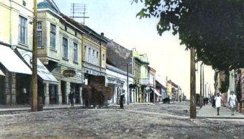 Neu-Gradiska (Nova Gradiška), Strossmayerova ulica (Strossmayerstraße)