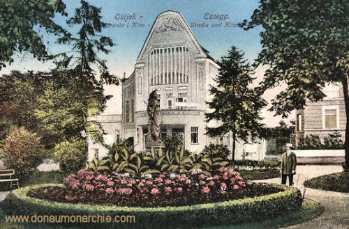 Essegg (Osijek), Urania und Kino