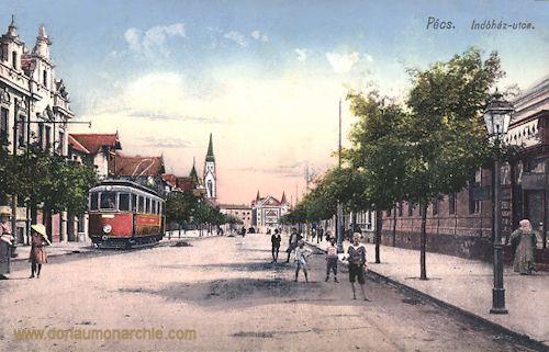 Fünfkirchen (Pécs), Indóház utca