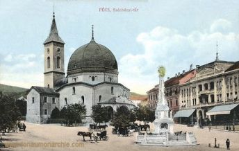 Fünfkirchen (Pécs), Széchenyi tér (Széchenyi-Platz)