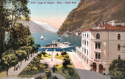 Riva, Lago di Garda, Hotel Sonne